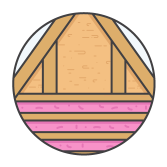 Ceiling Insulation Icon